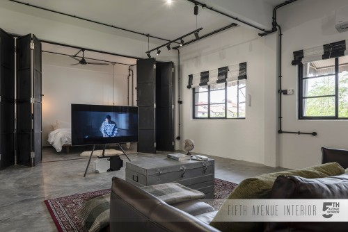 Industrial Resale Commercial by Fifth Avenue Interior Design