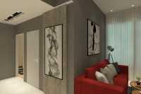 Industrial New Condominium by Inside Story Interior Design