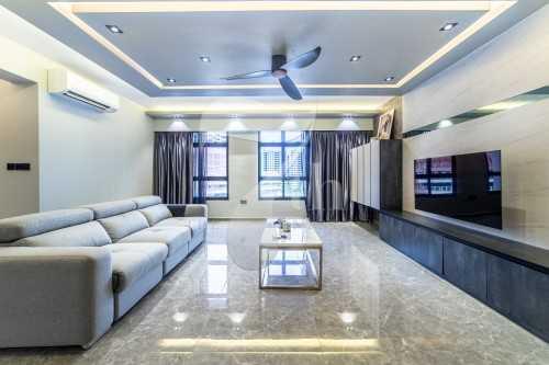 Modern New 5-Room HDB by The 7th Interior Pte Ltd