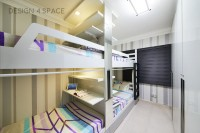 Modern New 4-Room HDB by Design 4 Space Pte Ltd