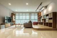 Asian New 5-Room HDB by DB Studio Pte Ltd