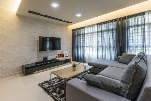 Modern New 4-Room HDB by Summit Design Studio