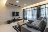 Modern New 4-Room HDB by Summit Design Studio