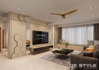 Modern New Condominium by De Style Interior Pte Ltd